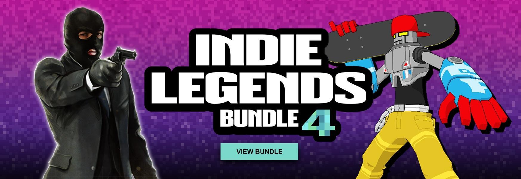 Indie Legends 4 Bundle - 8 jeux (Dématérialisé, Steam)