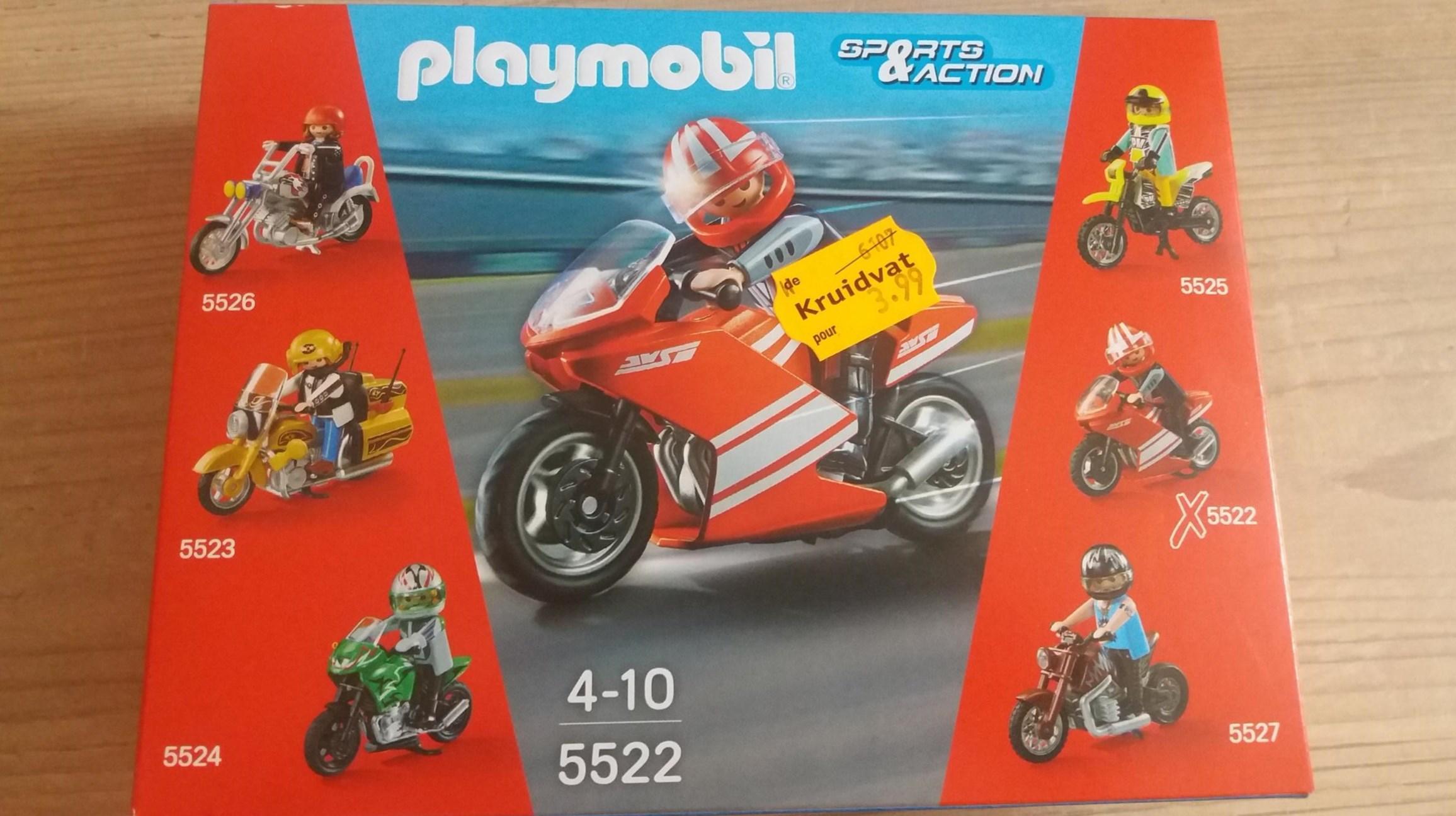 Jouet Moto Playmobil Sports & Action n°5522