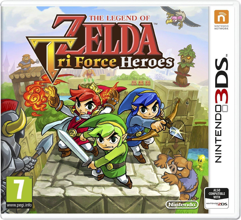 Sélection de jeux Nintendo 3DS en promotion - Ex : Jeu Zelda TriForce Heroes sur 3DS