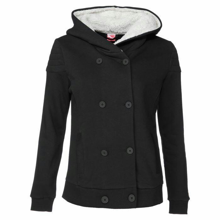 Veste à capuche pour femme Puma Sherpa (Taille XS)