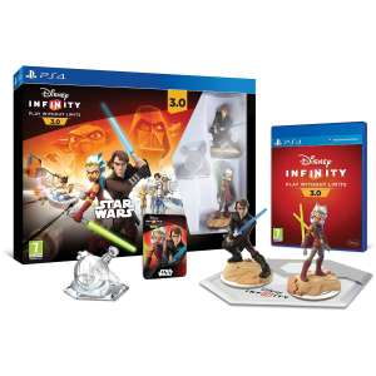 Pack de démarage Disney Infinity 3.0 Star Wars :  PS4, PS3, Xbox One, Xbox 360