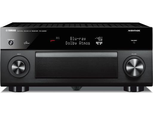 Amplificateur 9.2 Yamaha RX-A2050 - Dolby Atmos, DTS:X, Pre-Out, Upscaling 4K/60, Noir
