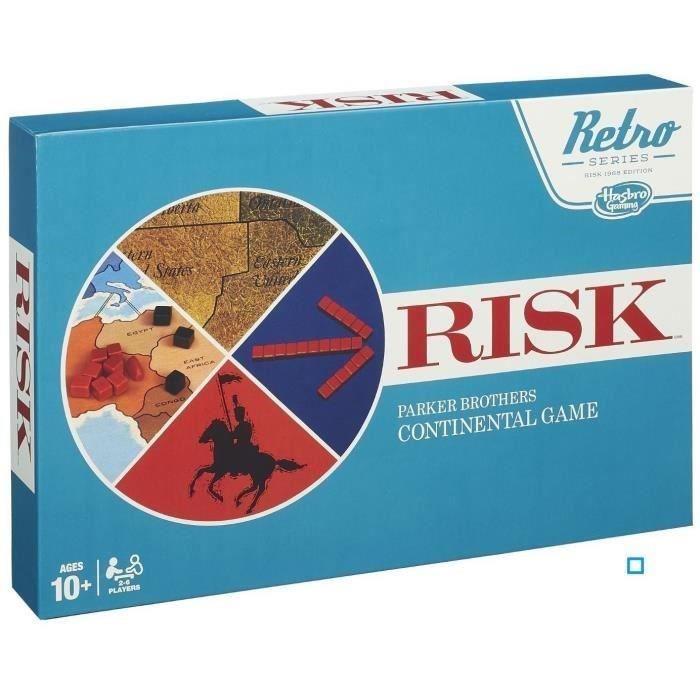Risk Vintage offert pour un jeu de société acheté parmi une sélection - Ex : Monopoly Classique + Risk Vintage