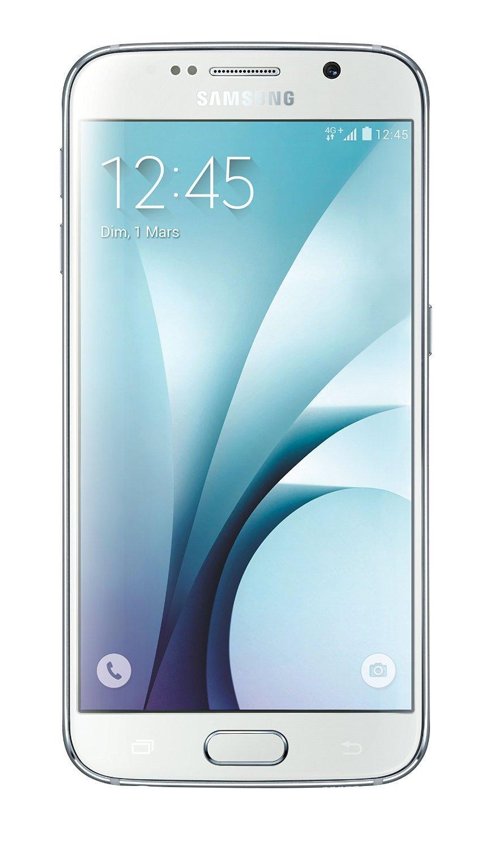"""Smartphone 5.1"""" Samsung Galaxy S6 - 32 Go, blanc (via ODR de 50€)"""