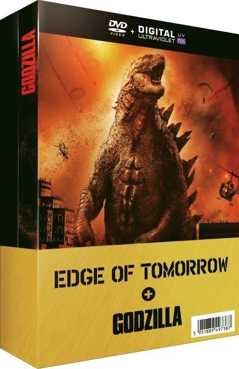 Coffret DVD Edge of Tomorrow + Godzilla