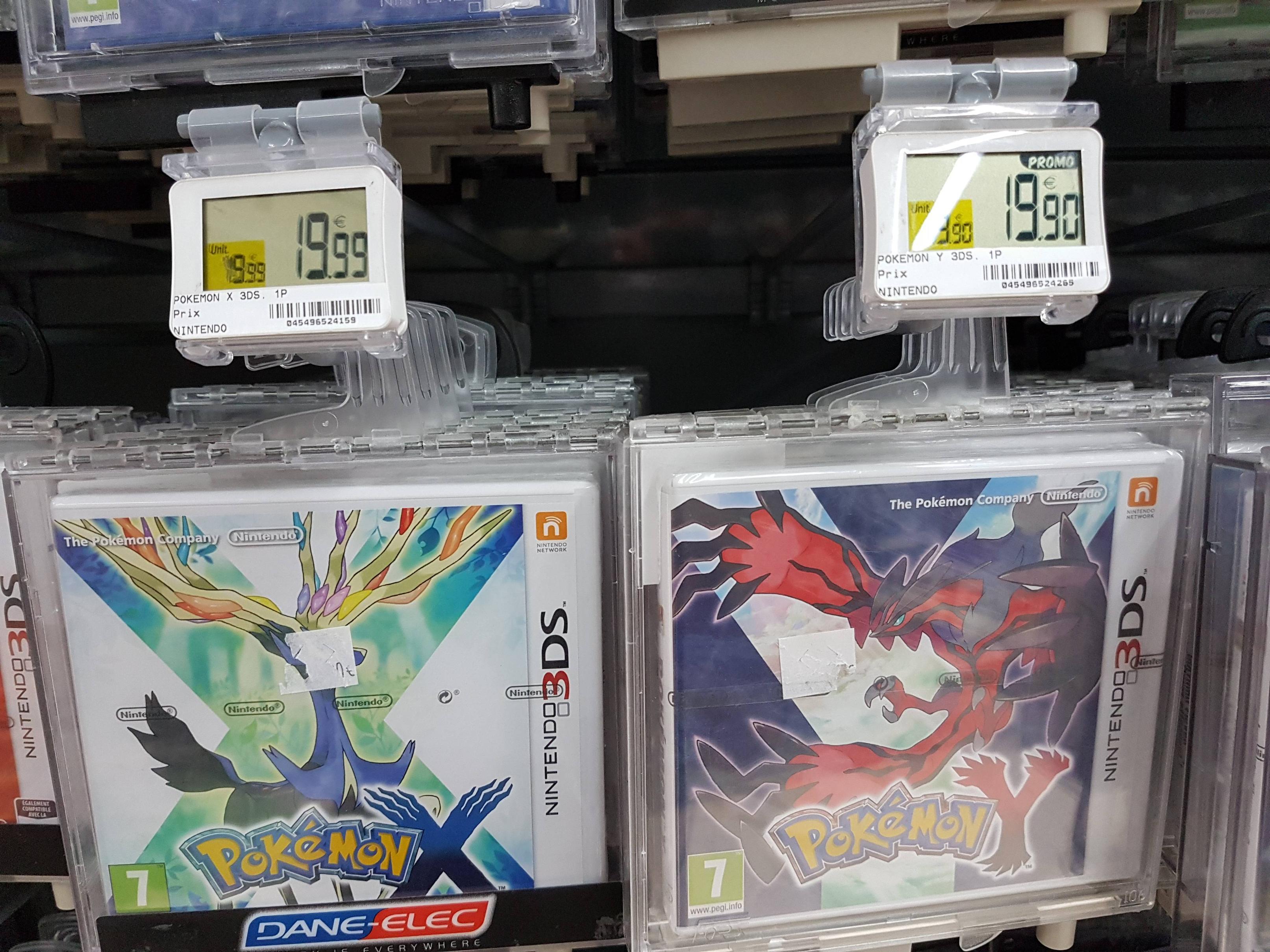 Sélection de jeux vidéo en solde - Ex : Pokémon X/Y ou Saphir Alpha/Rubis Omega