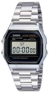 Montre Casio  A158WA-1D  Vintage  Quartz Digital Cadran LCD