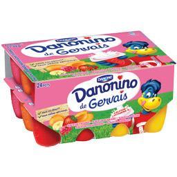 2 Lots de 24 yaourts Gervais Danonino (via 2.68€ sur la carte de fidélité + BDR) - 2.4 kg