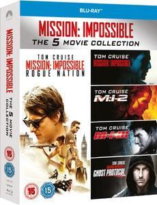 Coffret Blu-ray Mission Impossible 1-5