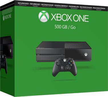 Console Microsoft Xbox One 500 Go - Reconditionnée