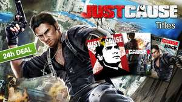 Just Cause 1 et 2 sur PC (Dématérialisé - Steam)