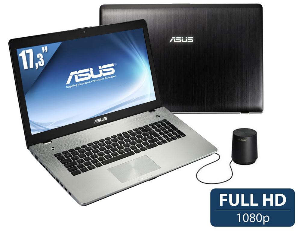 Ordinateur Portable 17,3'' Asus N76VB-T4083H Full HD Intel Core i7 - HDD 1 To - 16Go de ram - GeForce GT 740M