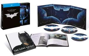 The Dark Knight Trilogie Coffret 5 Blu-rays + 1 Livret