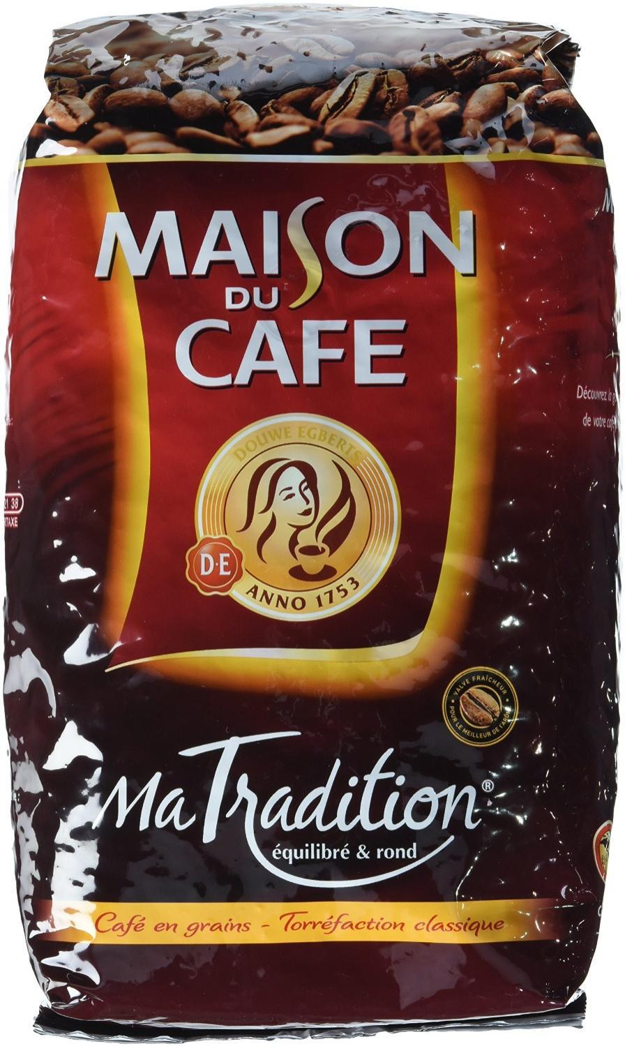 Lot de 3 Pack de café Maison du café en grains - 3x1Kg