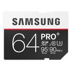 Carte SDXC Samsung Pro+ U3 64 Go
