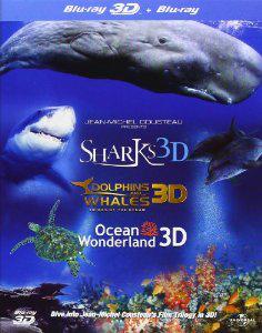 Coffret Blu-ray 3D Trilogie Jean-Michel Cousteau / Frais de port inclus