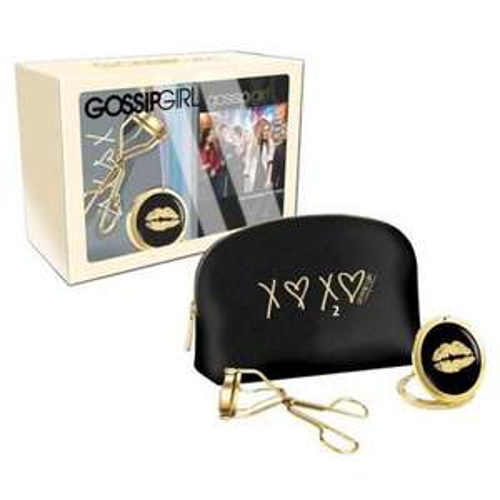 Coffret DVD Gossip Girl - Intégrale Saison 1 à 5 +1 trousse avec accessoires de maquillage