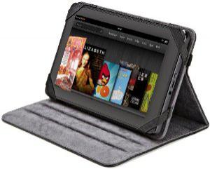 """AmazonBasics Étui folio en cuir avec support ajustable multi angle pour tablette 7"""""""