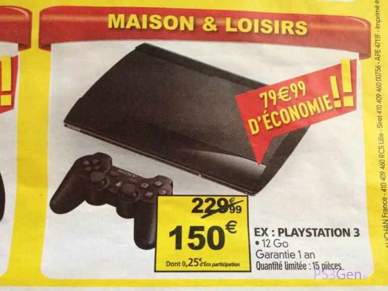 Console Sony PlayStation 3 12 Go