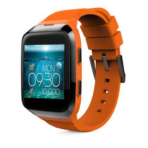 Montre Connectée étanche My Kronoz ZeSplash 2 avec Cardiofréquencemètre - Orange
