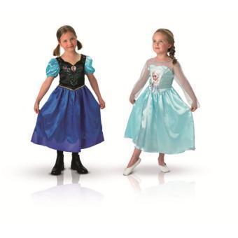 Costumes pour enfants Disney Frozen Anna & Elsa Frozen  : La Reine des neiges (5 à 8 ans)
