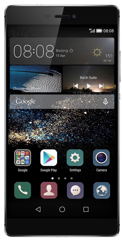 Smartphone 5.2'' Huawei P8 - 16 Go - Gris (via ODR 70€)