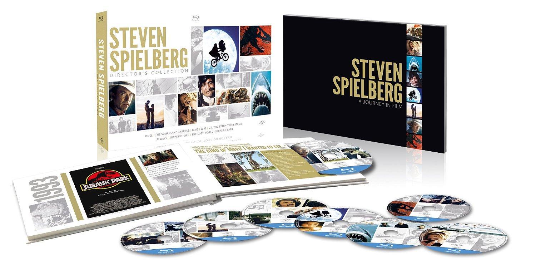 Coffret Blu-ray Steven Spielberg Collection (8 films)