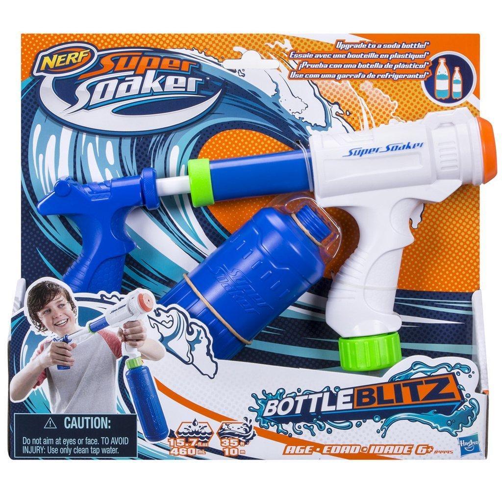 Pistolet à eau Nerf Soaker Bottle Blitz B4445eu40