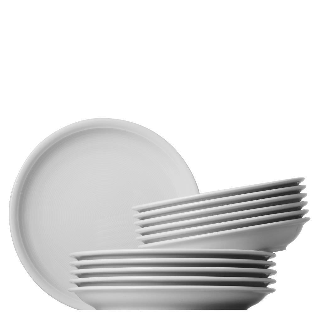 Service de Table Thomas - 12 Pièces, Porcelaine, Blanc