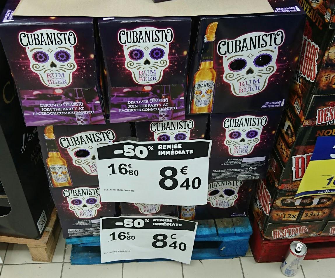 Pack de Bières aromatisées Cubanisto - 12 x 33cl