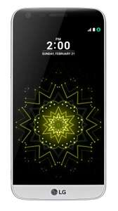 "Smartphone 5,3"" LG G5 H850 Argent - IPS QHD, Snapdragon 820, RAM 4Go, 32Go, Android 6.0"