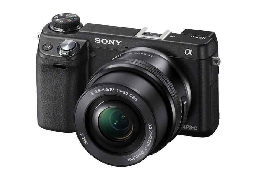Appareil photo Sony NEX-6B Noir - WiFi intégré + Obj. Sony E PZ 16 - 50 mm f/3.5 - 5.6 + Housse + Carte SDHC 8 Go (Adhérents: 299€)