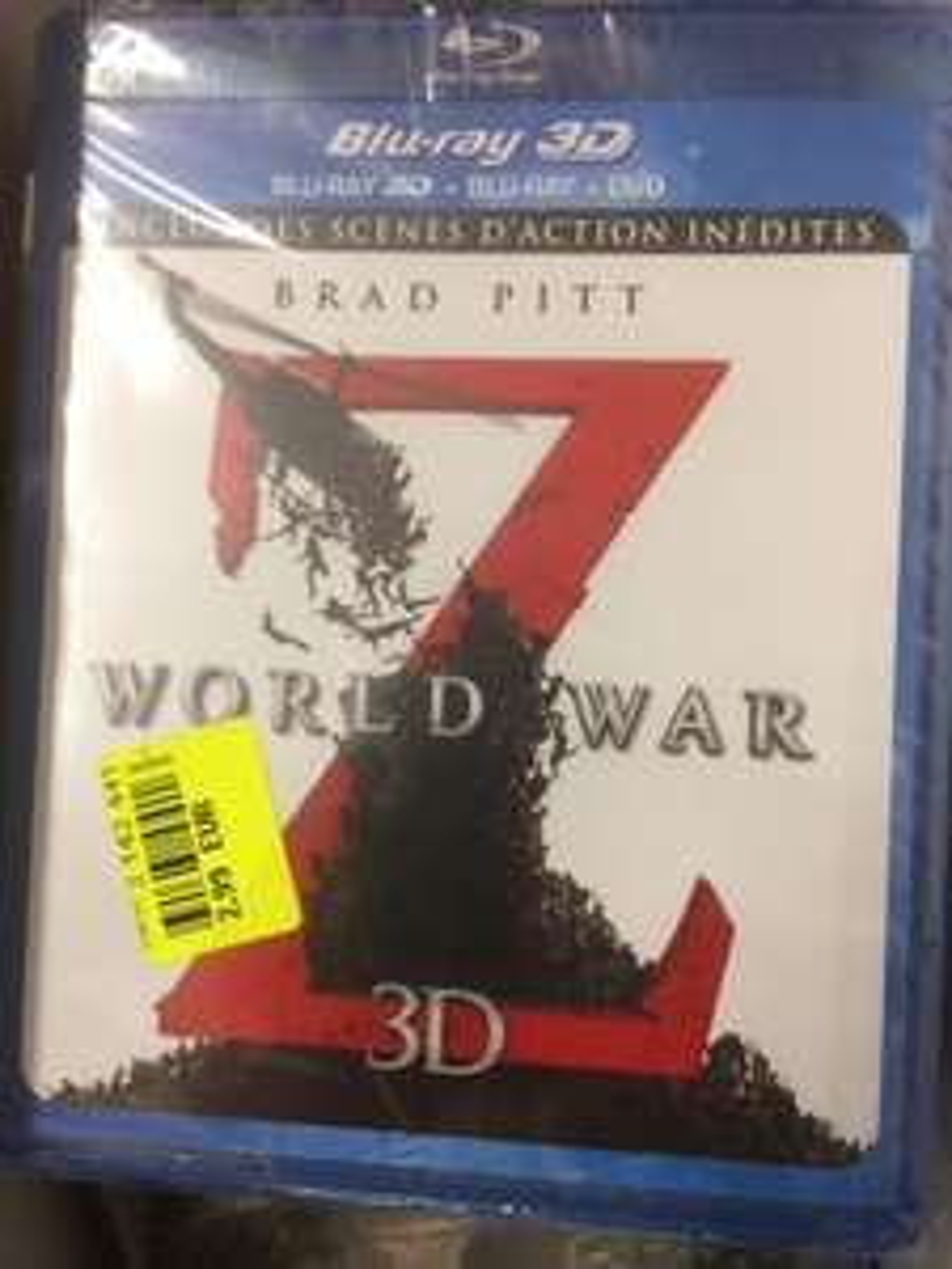 Blu-ray Worldwar Z 3D