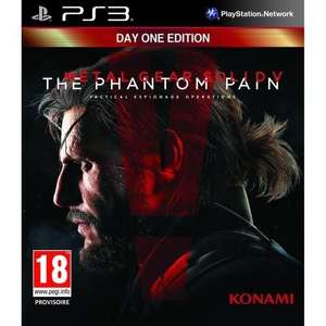 Metal Gear Solid V : The Phantom Pain Jeu PS3 - Edition : Day One