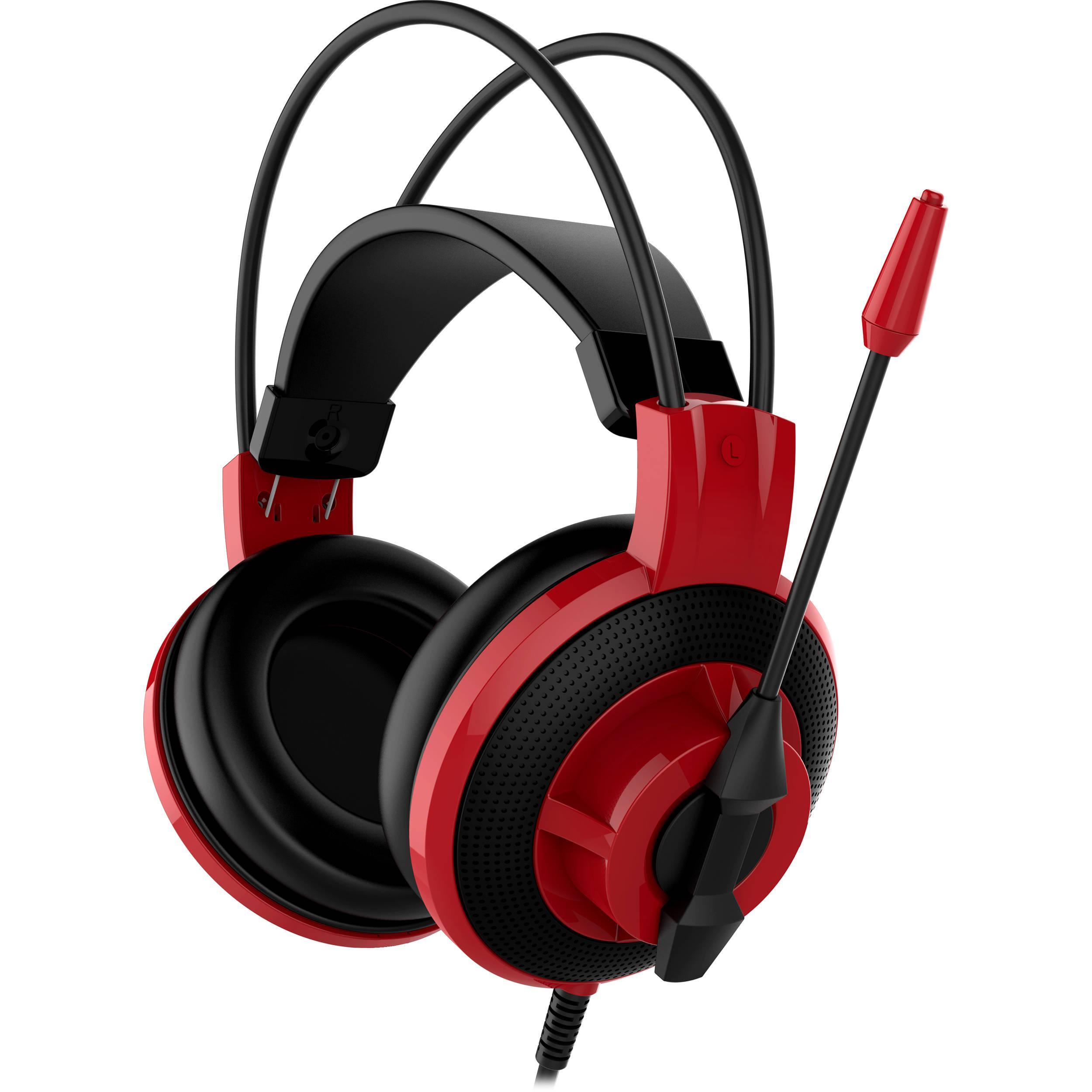 Casque audio MSI DS501 - rouge