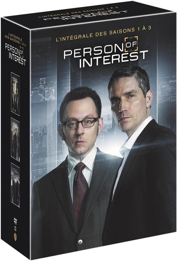 Coffret DVD : Person Of Interest Saison 1 à 3