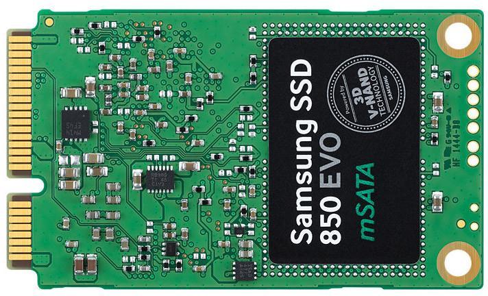 SSD interne Samsung 850 Evo - mSATA - 250Go