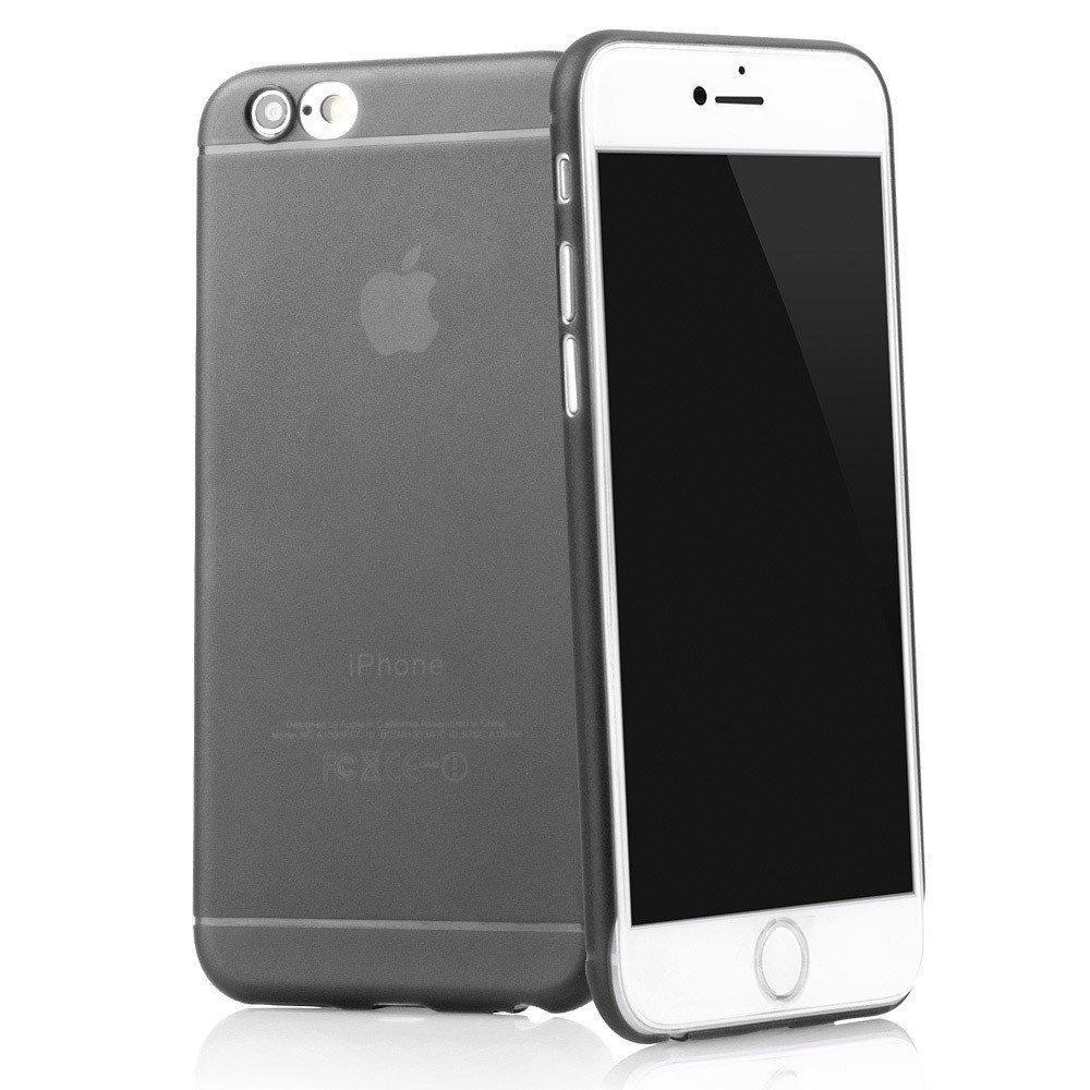 """Coque 4,7"""" TheSmartGuard pour iPhone 6S / 6 - Noir transparent (frais de port inclus)"""