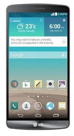 """Smartphone 5.5"""" LG G3 - 32 Go - Noir Métalisé (+ jusqu'à 32.25€ en SuperPoints)"""