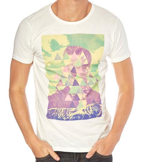 Jusqu'à 70% de réduction sur la marque Sprinfield - Ex : T-shirt Blanc