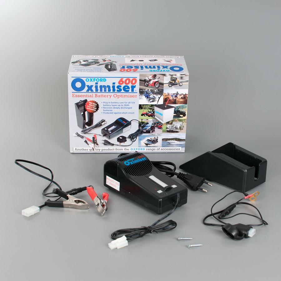 Chargeur batterie Oxford Oximiser 600