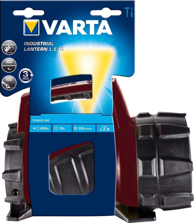 [Panier Plus] Lampe torche étanche Varta Industrial Lantern 4D - LED