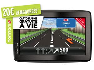 GPS Tomtom Via 135 M Cartographie à vie Europe 45 (avec ODR 20€)