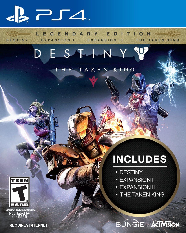 Destiny Edition Légendaire Le Roi des Corrompus PS4 et Xbox One