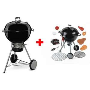Barbecue Weber Master Touch GBS 57cm + Jouet barbecue Weber minature