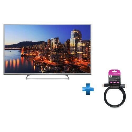 """TV 50"""" Panasonic TX-50DS630EP - LED, Full HD, Smart TV, 3D + Câble HDMI"""