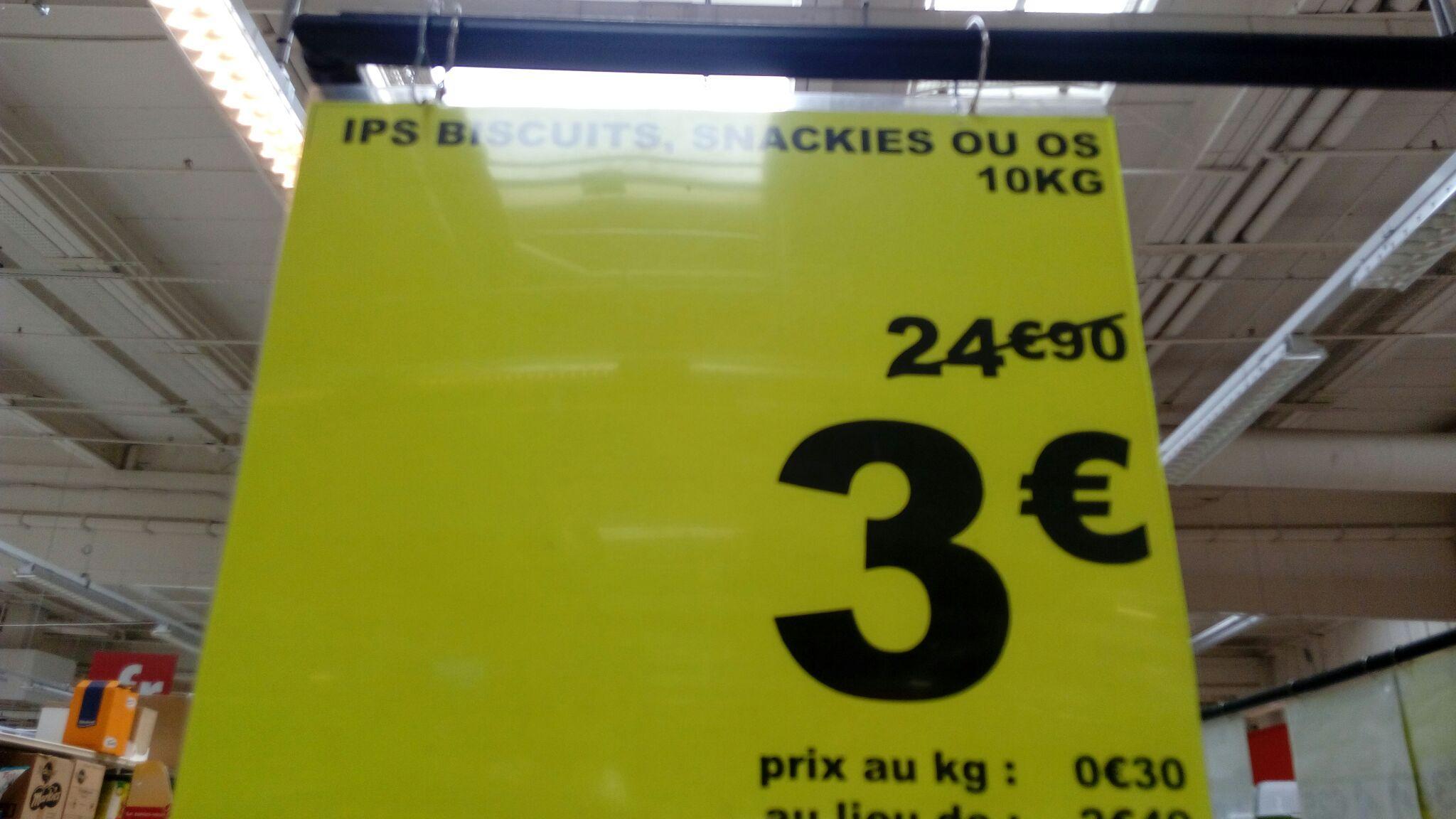 10 kg de friandises pour petits chiens