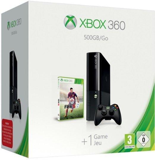 Console Microsoft Xbox 360 500 Go + FIFA 15