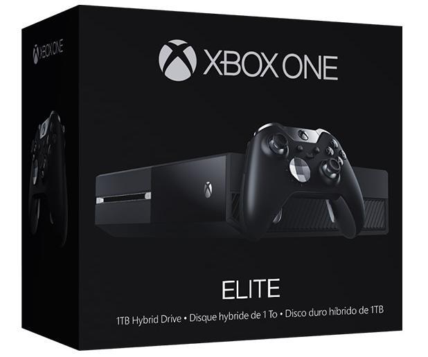 Console Microsoft Xbox One Elite - SSHD 1To