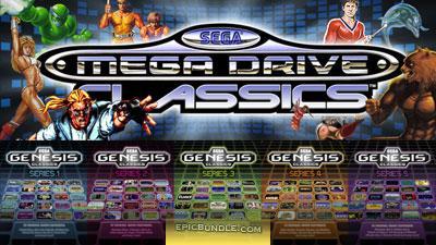Sélection de jeux vidéo Sega Mega Drive Classics sur PC (dématérialisés) en promotion - Ex : lot 5 jeux
